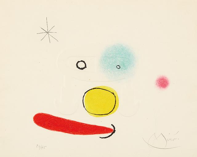 Joan Miró, 'Le bijou (The Jewel)', 1966, Phillips
