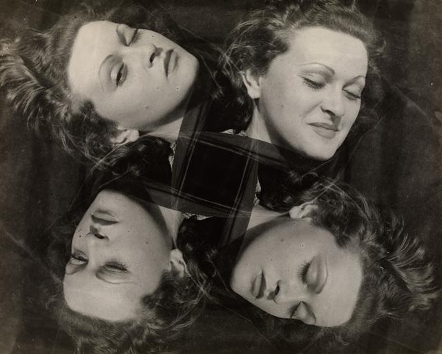 , 'Manina, Four Expressions,' ca. 1937, Osborne Samuel