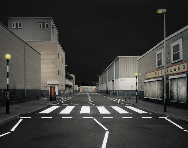 ", '""Pizzaland"" from the series ""A Metaphysical Survey of British Dwellings"",' 2010, Yamamoto Gendai"