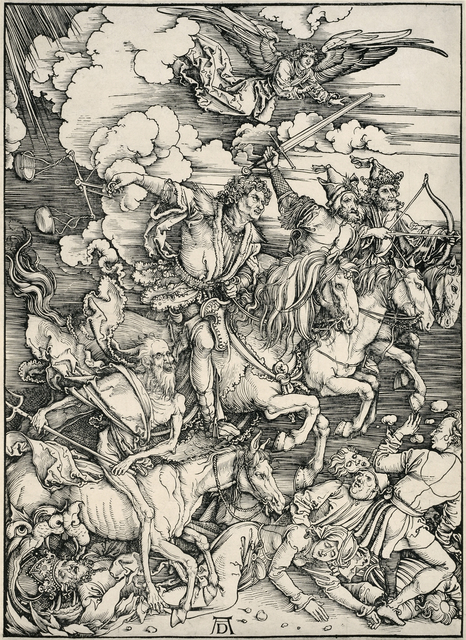 , 'The Four Horsemen of the Apocalypse,' 1498, David Tunick, Inc.
