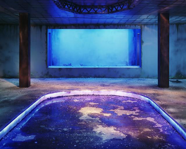 , 'Dance Hall (Blueness),' 2013, Leo Xu Projects