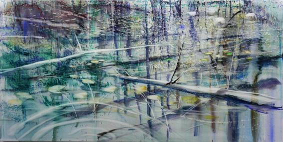 , 'Elbow Lake,' 2017, Galerie Andreas Binder
