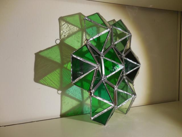 , 'Green Prism ,' 2018, Philadelphia's Magic Gardens