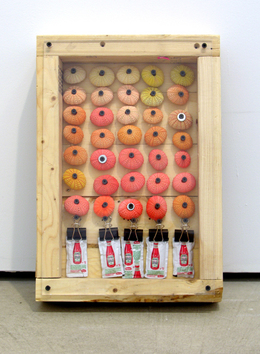Phoebe Washburn, 'Condiment Box For Hippies Eating Burgers By The Sea (Gatorade Not Included)', 2008, Feuer/Mesler