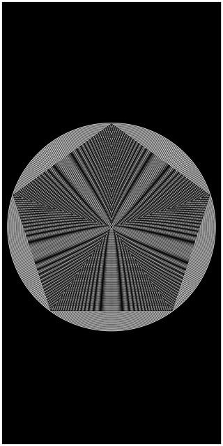 , 'Triangulo inscrito  ,' 2014, le laboratoire