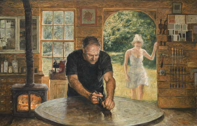 Dustin Neece, 'The Workshop', ca. 2000, David Benrimon Fine Art