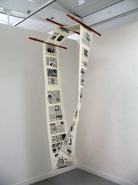 , 'Vertical Scroll,' 2019, Kala Art Institute