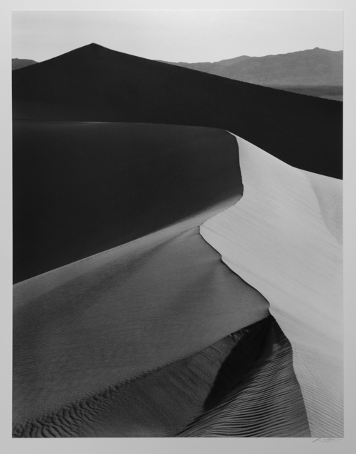 , 'Sand Dunes, Sunrise, Death Valley National Park,' ca. 1948, Photography West Gallery