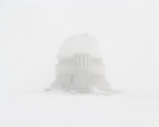 , 'Deserted observatory located in the area with the best conditions for space observations. Kazakhstan, Almaty region,' 2015, Pechersky Gallery