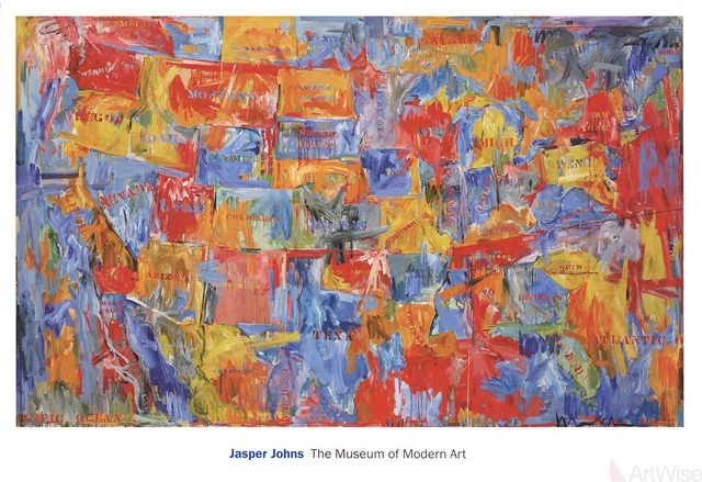 Jasper Johns, 'Map (lg)', 2011, ArtWise
