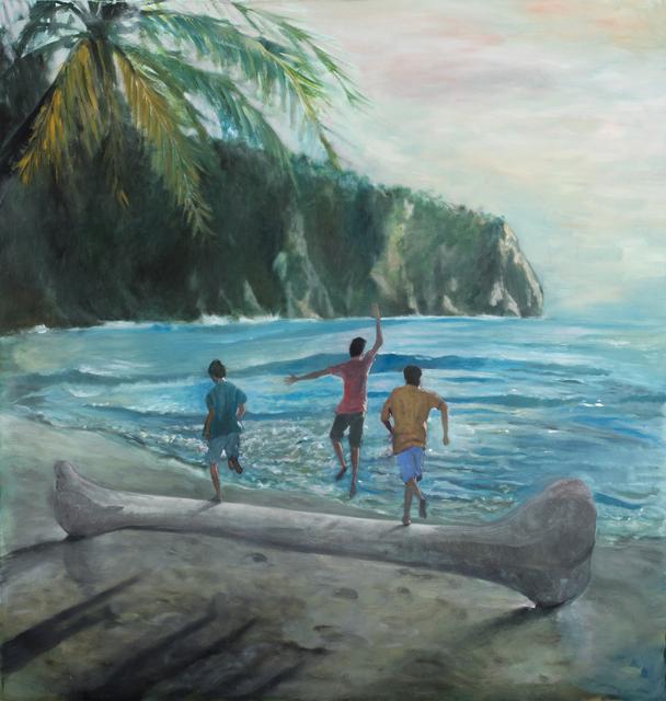 Danilo Buccella, 'Beach boys', 2019, Federico Luger (FL GALLERY)