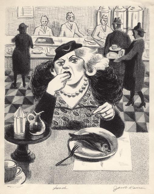 , 'Lunch,' 1936, Conrad R. Graeber Fine Art