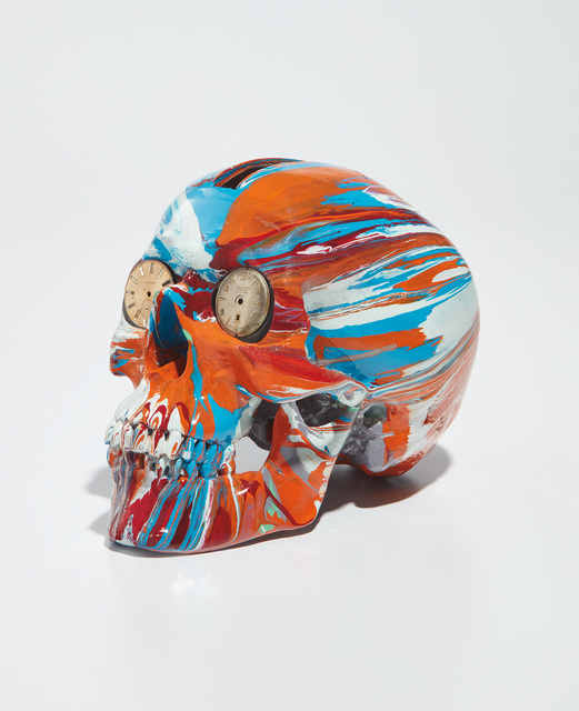 Damien Hirst, 'The Hours Spin Skull', 2009, Phillips