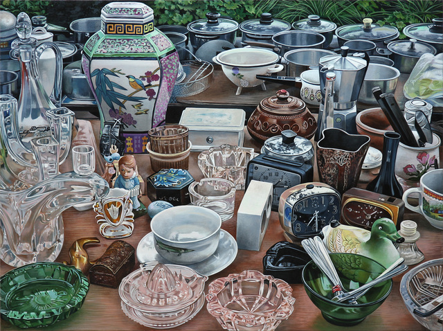 , 'French Market II,' 2018, Russo Lee Gallery