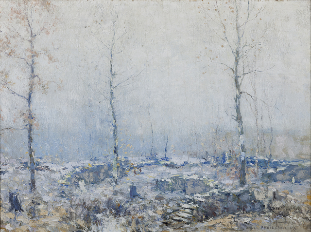 , 'The Old Wood Lot,' 1920, Montclair Art Museum