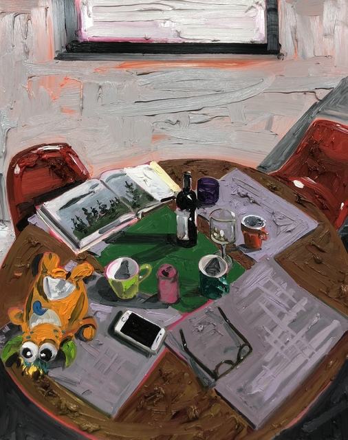 Kim Dorland, 'Table', 2018, Galerie Antoine Ertaskiran