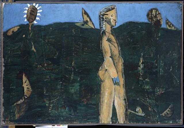 , '5 Bilder über das mykenische Lächeln - Der Frühling,' 1985, Musée d'Art Moderne de la Ville de Paris