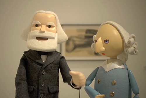 , 'Baby Marx,' 2008, DePaul Art Museum