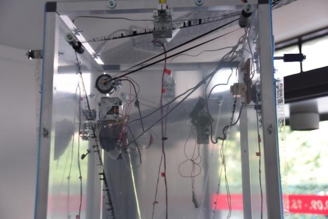 , 'Transparent Tape Machine (detail),' 2016, SEA Foundation