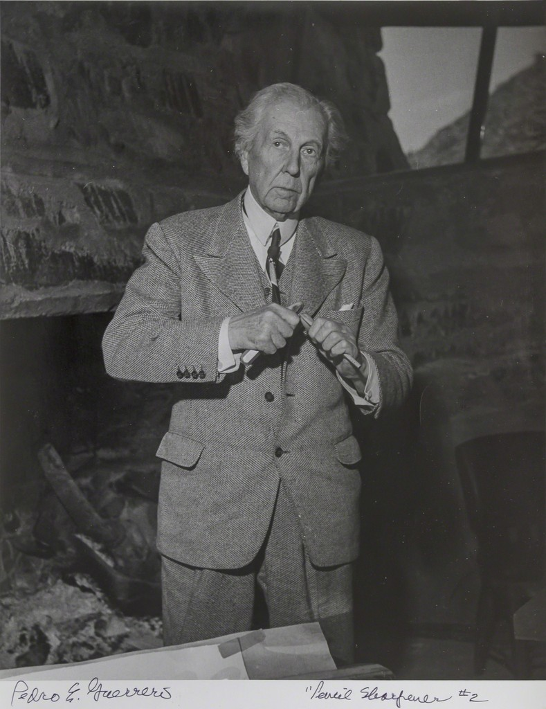 pedro e guerrero frank lloyd wright sharpening a pencil 2 1947 available for sale artsy. Black Bedroom Furniture Sets. Home Design Ideas