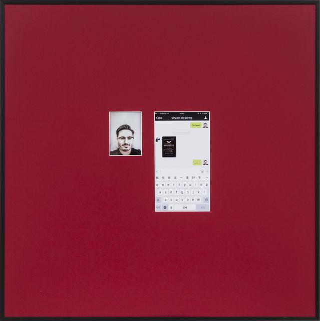 , 'Selfie No.25,' 2016, de Sarthe Gallery