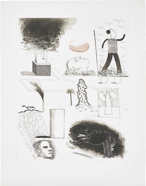 David Hockney, 'Showing Maurice the Sugar Lift', 1974, Phillips