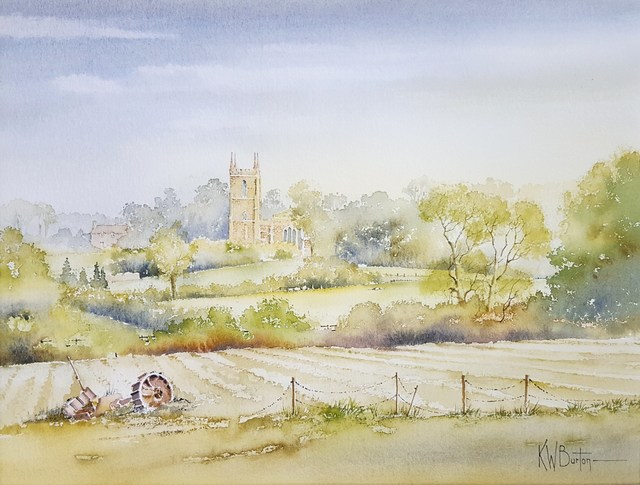 Ken Burton, 'Greatford, Somerset', 1988, Graves International Art