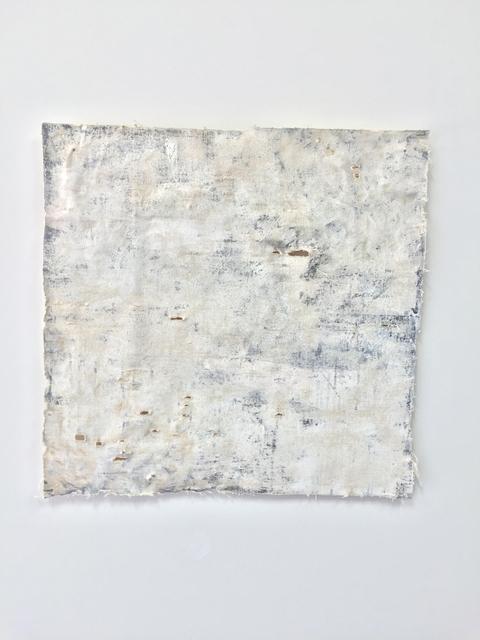, 'Erased Painting 3,' 2016, SILAS VON MORISSE gallery