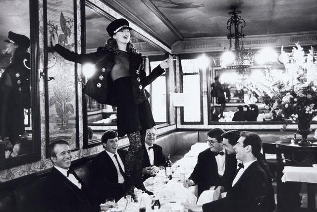 Arthur Elgort, 'Kate Moss, Café Lipp, Paris, Vogue Italia', 1993, Phillips