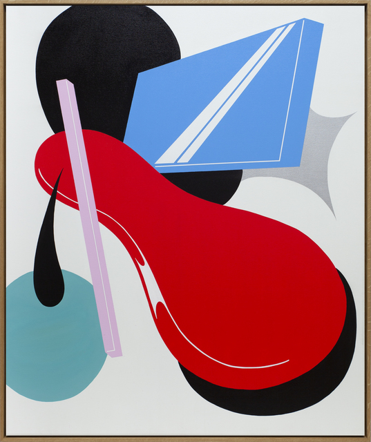 Moritz Green, 'Untitled Composition 5', 2021, Painting, Acrylic on canvas, KOLLY GALLERY