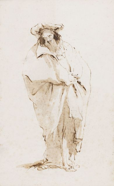 , 'A bearded oriental,' 1745-1750, Artur Ramon Art