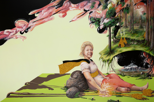 Tanmaya Bingham, 'Super Native', 2018, BBA Gallery