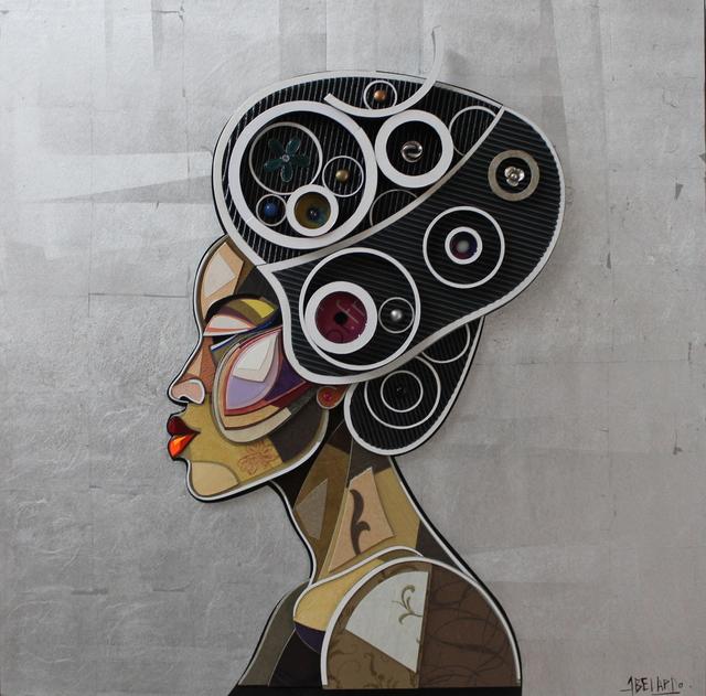, 'African Profile 2,' 2015, Art Supermarket