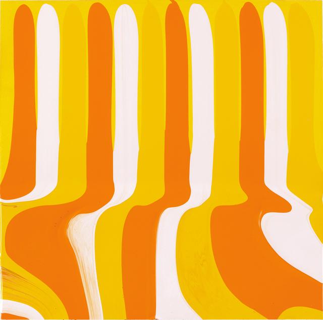 Ian Davenport, 'Puddle Painting Yellows', 2011, Galleria Tega