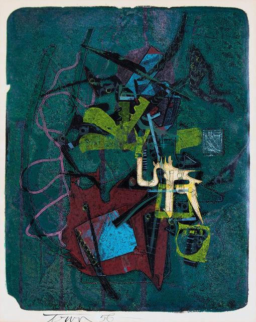 , 'The Drawbridge of Oceanus,' 1956, Canadian Art Group