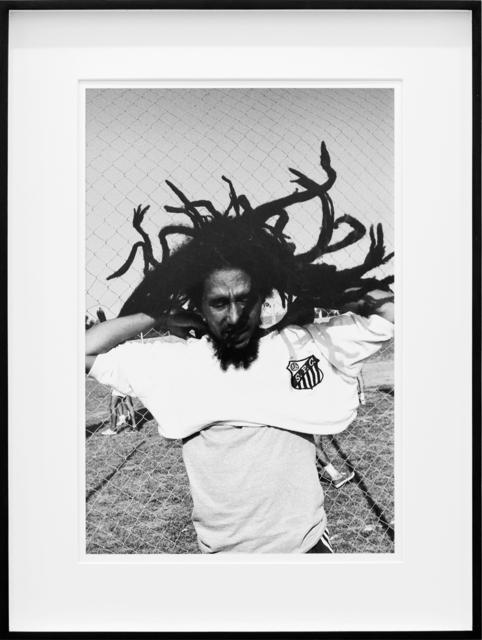Maurício Valladares, 'Bob Marley (Santos)', 1980, Photography, Print on cotton paper with mineral pigment, LURIXS: Arte Contemporânea