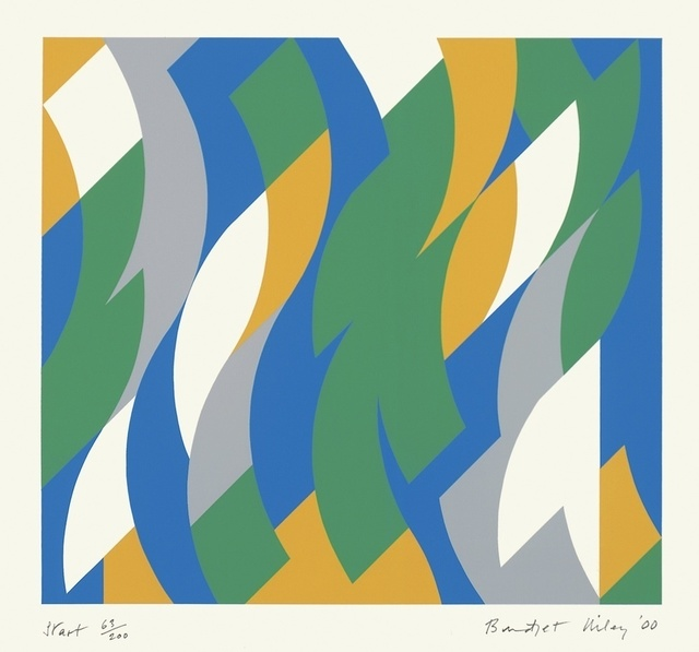 Bridget Riley, 'Start', 2000, Galerie Thomas