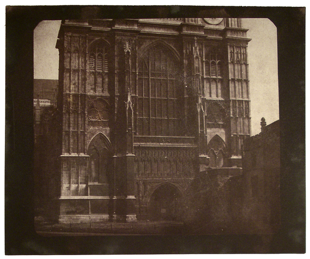 , 'Westminster Abbey,' prior to May 1844, Hans P Kraus Jr. Fine Photographs