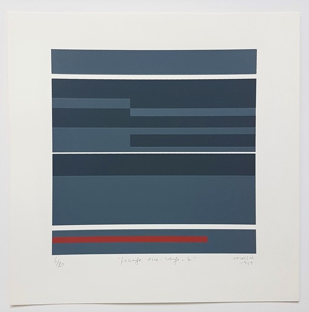 Marie-Thérèse Vacossin, 'Geometric Composition', 1979, Cerbera Gallery