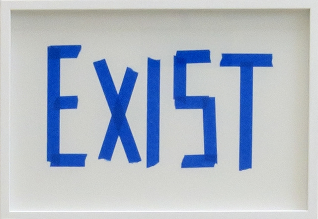 , 'EXIST,' 2016, Michel Rein Paris/Brussels