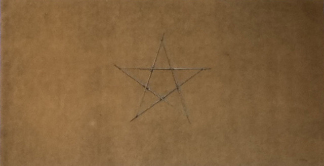 , 'Senza titolo (stella),' 1974, Lia Rumma