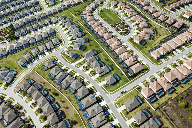 , 'A planned community in Orlando, Florida,' 2011, Fahey/Klein Gallery