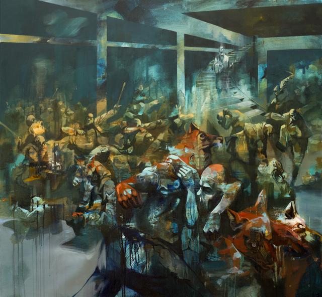 , 'Dinner Served,' 2016, Galerie SOON