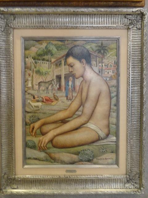 """, '""""Niño"""",' 1935, GALERÍAS A. CRISTOBAL"""