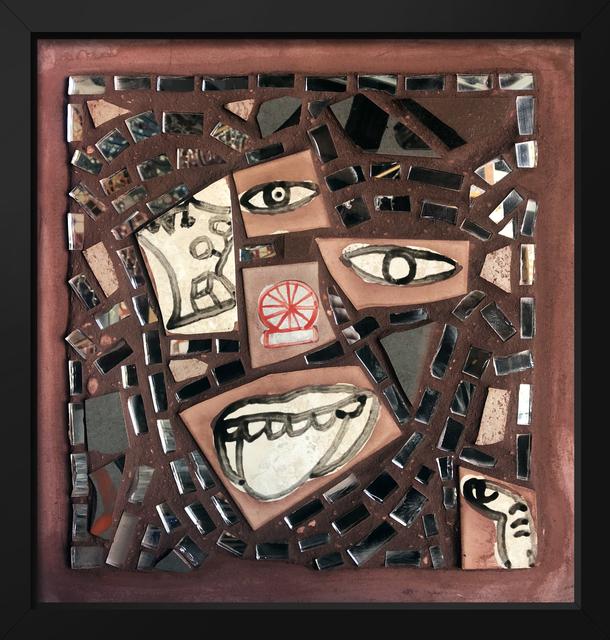 Isaiah Zagar, 'Wheel Portrait ', 2018, Philadelphia's Magic Gardens