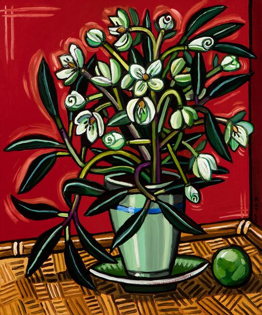, 'Lenten Rose I,' 2015, Arthur Roger Gallery