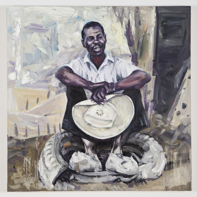 , 'Working Man #3,' 2015-16, Nancy Hoffman Gallery