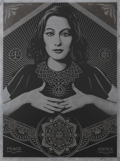 Shepard Fairey, 'Peace & Justice', 2013, Tate Ward Auctions