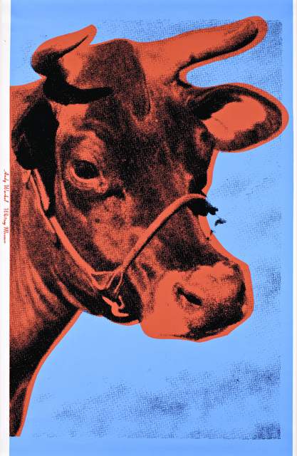 Andy Warhol, 'Cow (Blue And Salmon)', 1966, Julien's Auctions