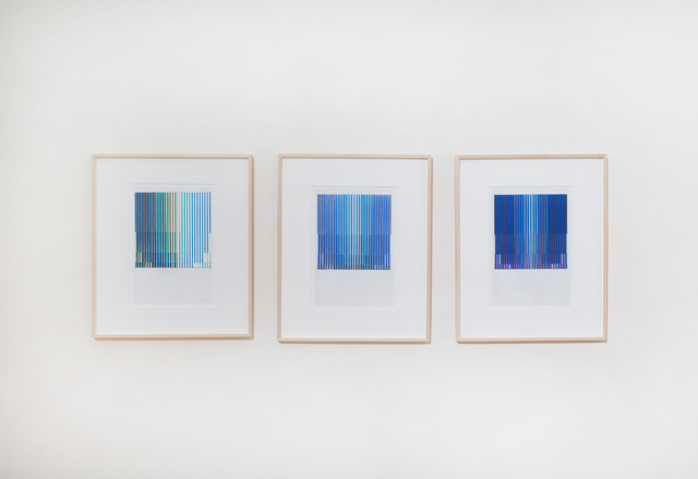 , 'Zyklische Permutation, series of 3 drawings,' n.d., Galerie Knoell, Basel